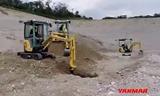 洋马新SV-系列挖掘机视频