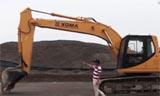 厦工822EL液压挖掘机