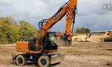 凯斯WX 168轮式挖掘机视频