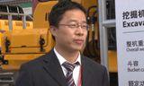 上海宝马展 三一245H挖掘机产品讲解
