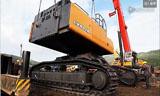 凱斯800BME挖掘機安裝
