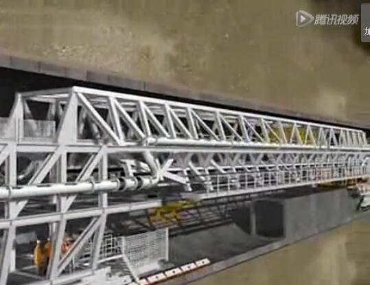 长江一号盾构机助力上海长江水底隧道工程