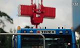Terex履带式起重机组装视频