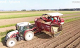 现代化的农业机械