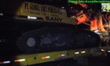 运输三一SR150C旋挖钻机视频
