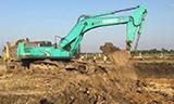 印度 Kobelco 神钢SK500HDLC挖掘机装车