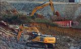 柳工933E履帶式挖掘機
