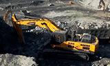 大漠苍穹唯我独尊 雷沃48吨矿用挖掘机鏖战内蒙乌海煤矿