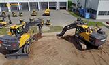 德国孔茨沃尔沃工程机械制造厂参观:挖掘机生产线Volvo EW160E & EW180E