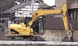 卡特311D履带挖掘机工作