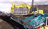 小松PC240-10 挖掘机在展会
