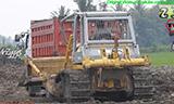 小松D85E-SS推土机工作