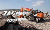 日立ZX-W系列轮式挖掘机视频