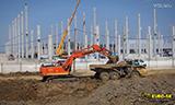 利渤海尔R944挖掘机装车