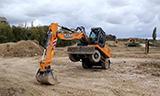 凯斯WX188轮式挖掘机视频