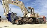 运输特雷克斯RH30F挖掘机