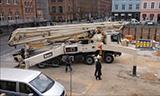 施维英S46 SX混凝土泵车工作