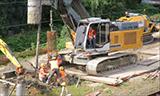 利勃海尔LB 20旋挖钻机视频