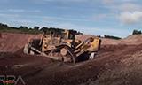 卡特彼勒D11R推土机工作