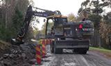 沃尔沃EW160E轮式挖掘机装载斯堪尼亚R500 V8卡车