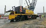 利勃海尔车载桁架起重机视频