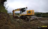 利勃海尔A918 轮式挖掘机