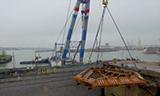 船坞修理大型海上起重机