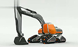 未来高科技的挖掘机,已经和变形金刚相媲美了
