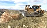 卡特彼勒D8T推土机工作