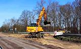 現代170W-7A輪式挖掘機