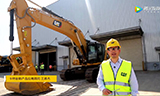 新一代Cat345GC大型液压挖掘机