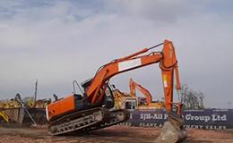 日立 ZX210LC-5B 挖掘机视频