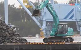 神钢SK200挖掘机制造石山