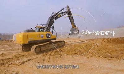 """山东用户:约翰迪尔挖掘机是我的""""得力爱将"""""""