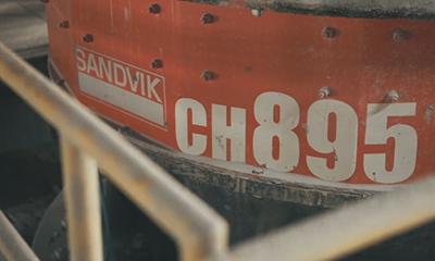 山特维克CH895圆锥破碎机