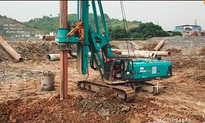 复杂工况施工利器 山河智能SWDM300H旋挖钻机