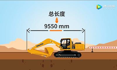 小松10M0新款20吨机型 PC215参数视频