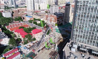 中联ZCC5200地铁建设视频