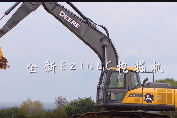约翰迪尔公司推出全新一代20吨级挖掘机