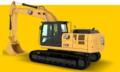 购机成本少,作业更高效!CAT(卡特)新CAT323 GX挖掘机绕机视频