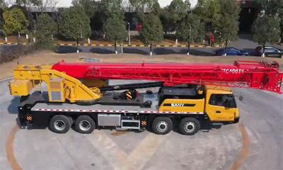 三一STC400T5-1汽车起重机|向往40吨的你,会考虑入手这台狠货吗?