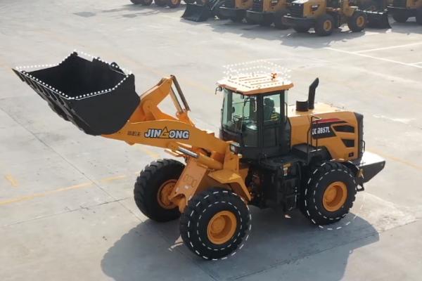 晋工JGM857L装载机视频大片,让您看个够!