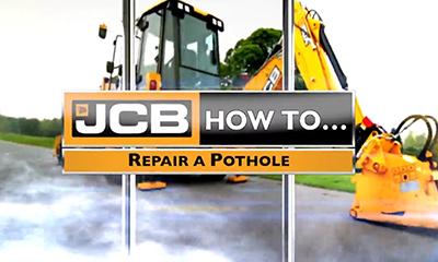 如何用JCB两头忙快速完成道路修复?