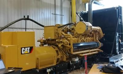 共同见证Cat®(卡特)G3520卓越的快速启动加载能力
