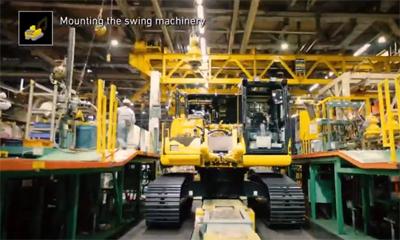 探访小松日本工厂,解密百年小松
