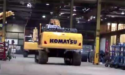 探访小松欧洲工厂,观小松挖掘机的制造全过程